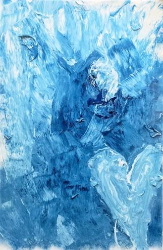 Baby Blue - 60x90cm